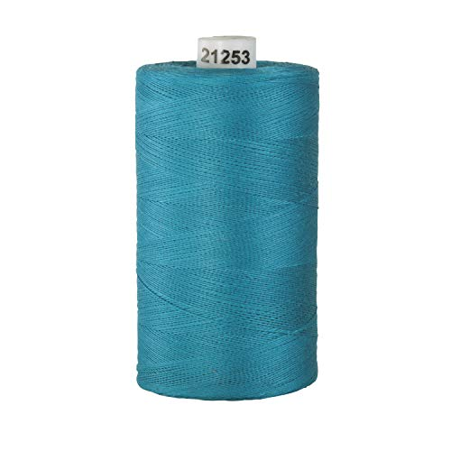Connecting Threads 100% Cotton Thread - 1200 Yard Spool (Teal)