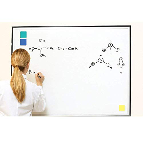 SHANGXING 24 Pack Magnetic Whiteboard Dry Eraser Bulk Chalkboard Cleansers Wiper for Home Office and School (2 x 2 inch, 4 Colors) by SHANGXING (Image #4)