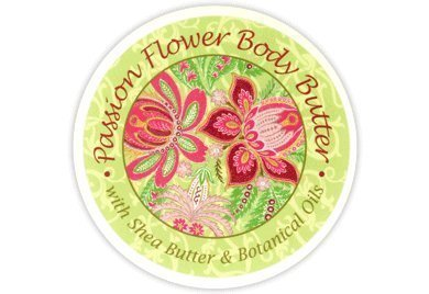 Greenwich Bay PASSION FLOWER Body Butter Enriched with Shea Butter and Cocoa Butter, Moisturizing and Fast Absorbing (Set of 2) 8 OZ each
