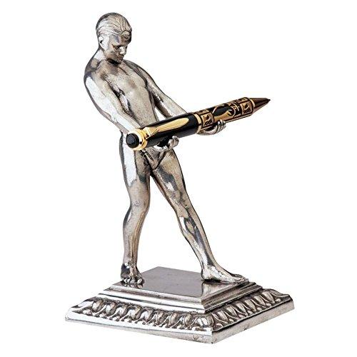 Design Toscano Art Deco Strongman Pen Holder ()