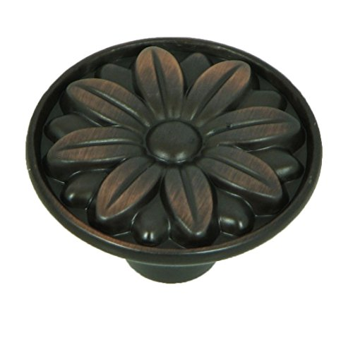 Stone Mill Hardware CP81521-OB-25P Oil Rubbed Bronze Mayflower Cabinet Knob, 25-Pack,