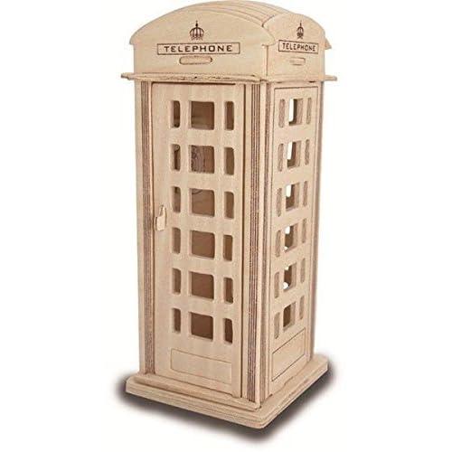 Phone Box - QUAY Woodcraft Construction Kit FSC by Quay