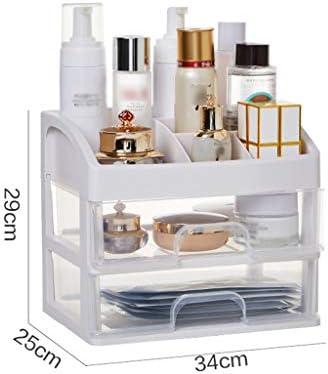 化粧品収納ボックス 家庭用引き出し収納ボックス化粧台スキンケア化粧品収納ボックスアクリル防湿防塵透明 JSSFQK (Size : S)