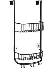 iDesign Forma Hangende Badkamerorganizer, Zwart