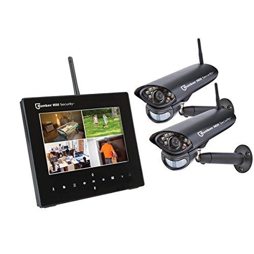New Bunker Hill Wireless Surveillance System 62368 4 Chan...
