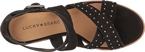 Lucky Brand Women's Kesey Black Sandal by Lucky Brand