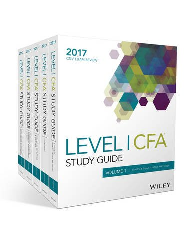 Wiley Study Guide For 2017 Level I Cfa Exam Set