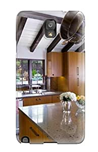 Premium Tpu Contemporary Kitchen With Hanging Pots Cover Skin For Galaxy Note 3
