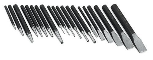 SK Hand Tools 6020 20-Piece Punch and Chisel Set, Model: 6020, Hardware Store Review