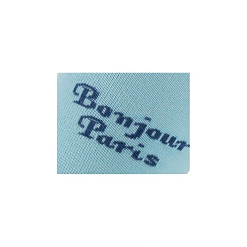 Achile Paris En Bleu chaussettes Coton Mi Bonjour wBwf0q