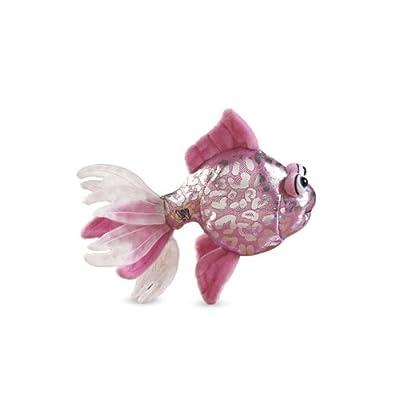 Lil'Kinz Mini Plush Stuffed Animal Pink Glitter Fish: Toys & Games