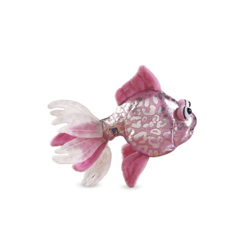 - Lil'Kinz Mini Plush Stuffed Animal Pink Glitter Fish