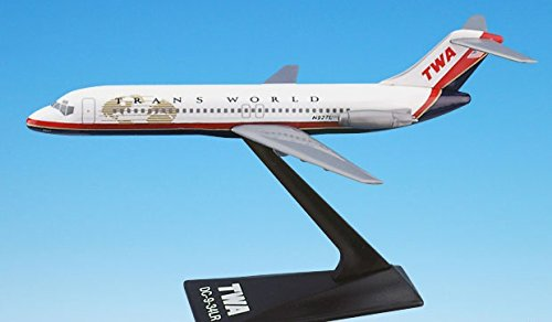 Flight Miniatures TWA Trans World Airlines Douglas DC-9-34LR 1:200 Scale 1995 Livery REG#N927L