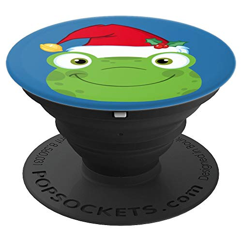 Festive Christmas Frog - PopSockets Grip and Stand for Phones and Tablets