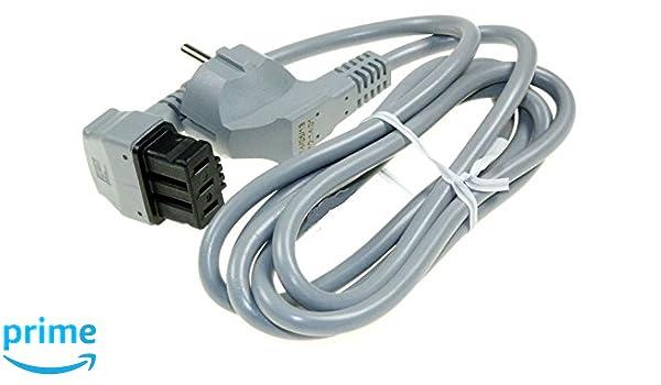 Cable de alimentación eléctrica para lavavajillas Bosch, Siemens ...
