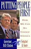 Putting People First, Bill Clinton and Al Gore, 0812921933