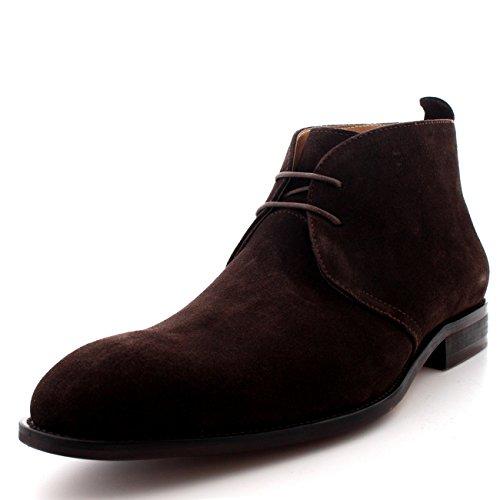 Spencer Stivali Scarpe Uomo Cut Marrone Mid Queensbury Caviglia Britannico Chukka Deserto Stile dC61vWq