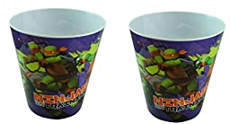 Tmnt Ninja Turtle Trash Can ( Ninja in Training ) X 2 Trash Can