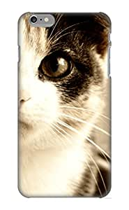 Kellywilliams Anti-scratch And Shatterproof Animal Cat Phone Case For Iphone 6 Plus/ High Quality Tpu Case