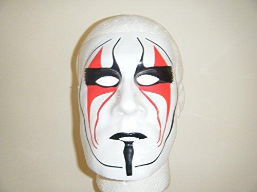 Wrestling Masks Uk Sting The Vigilante Wrestling Plastic Mask for $<!--$44.99-->