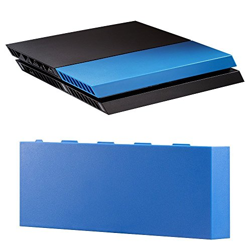 UUShop Matte Faceplate for PS4 Universal HDD Hard Driver Housing Cover Shell Replacement for...