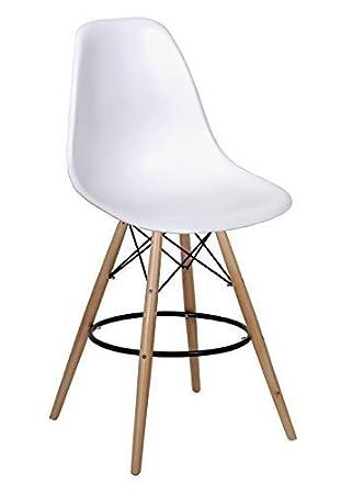 MOBISTYL Lot De 2 X Chaise Haute Bar Design Inspiration Eames Tabouret DSW