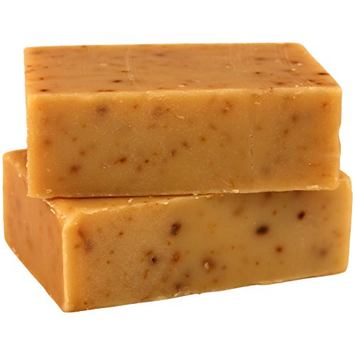1 Best Quality All Natural Handmade Goat Milk Soap (2 Bars) – Raw Organic Moisturizing Soap for Acne, Dry Skin, Eczema, Psoriasis, Rashes, Burns,  S…