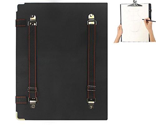 Portable 2-in-1 Artist Sketch Board Waterproof Art Portfolio Carry Backpack Shoulder Bag Sketchpads Drawing Board Travel Art Supplies Shoulder Storage Bag, 8K, 16