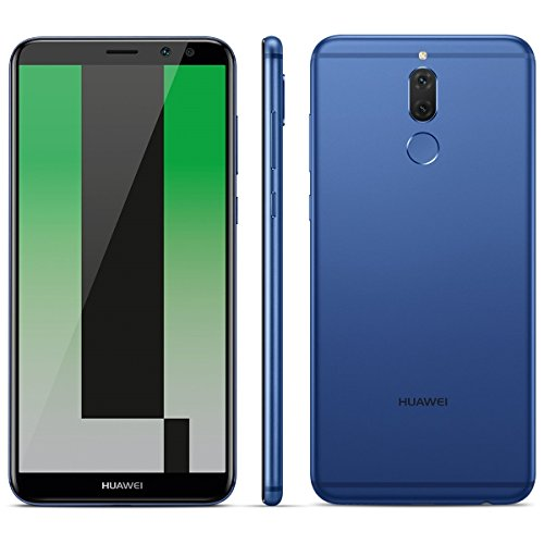 Huawei Mate 10 Lite RNE-L21 64GB/4GB Dual Sim - Factory Unlocked - International Version - GSM ONLY, NO CDMA - No Warranty in the US (Aurora Blue)