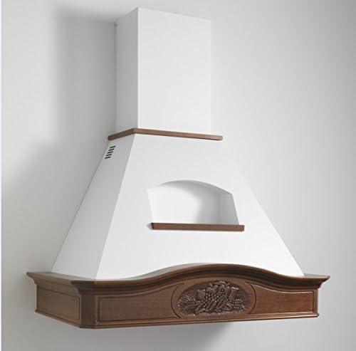 K-DESIGN-Cappa de cocina clásica, diseño rústico madera 90 GLENDA completa de motor: Amazon.es: Hogar