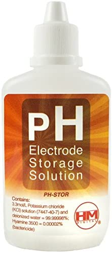 Hm Digital Ph Stor Ph Electrode Storage Solution For Use With Ph 200 Or Ph 80 60cc Volume By Hm Digital Haustier