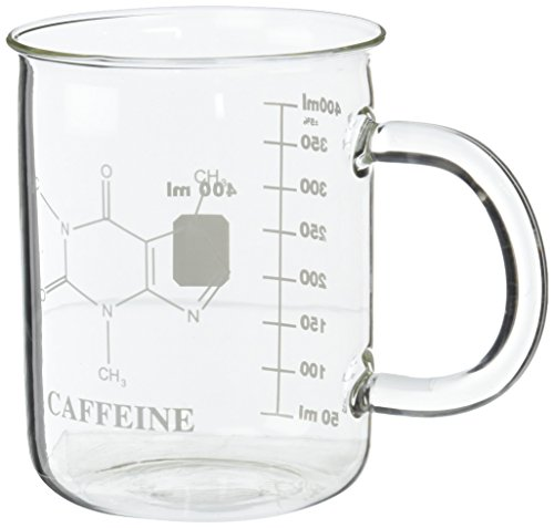 Caffeine Beaker Mug Novelty Coffee Tea Mug Deal (Large Image)