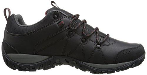ColumbiaPEAKFREAK VENTURE WATERPROOF - zapatillas de trekking y senderismo de media caña hombre Negro Schwarz (Negro/Gypsy 010)