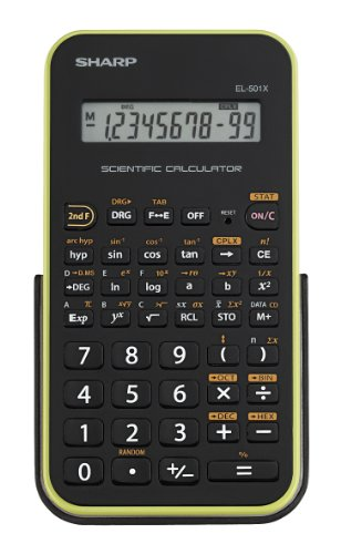 Sharp EL 501XBGR Scientific Calculator