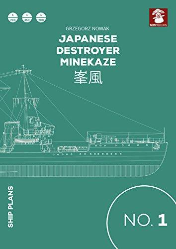 Japanese Destroyer Minekaze (Ship Plans) [Nowak, Grzegorz] (Tapa Blanda)