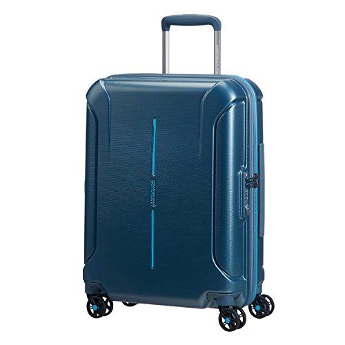 - American Tourister Technum Spinner Hardside 20, Metallic Blue