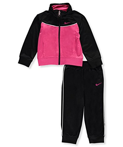 Nike Baby Girls' 2-Piece Tracksuit - black, 12 months