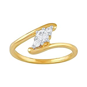 Giantti Daily Wear Women's 14KT Diamond Ring - IGL Certified ( 0.207 Ct, I1 Clarity, GH-Colour)
