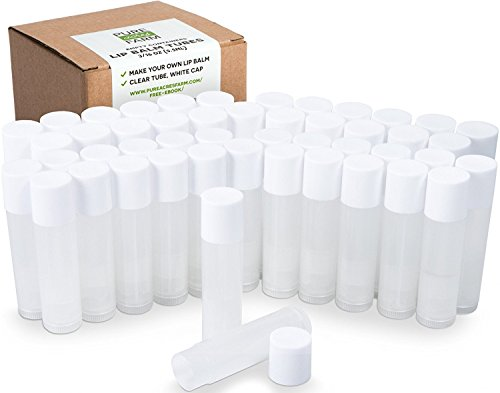50 Lip Balm Containers Empty