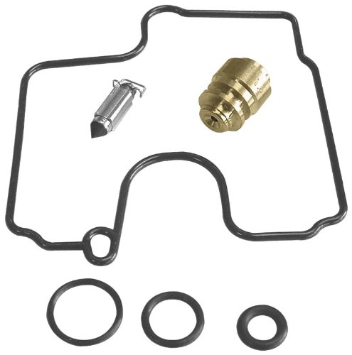 - <p> Each kit contains float bowl gasket (or o-ring), float valve assembly (or float needle) and o-rings to rebuild one OEM carburetor body.  Made in Japan.</p> <p>  </p> <p> *Non California models only</p>