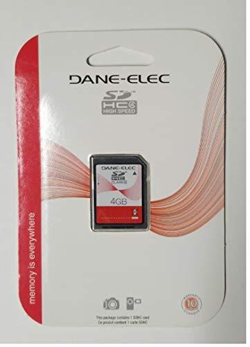 Dane Elec 4GB Class 4 SDHC Memory Card ()