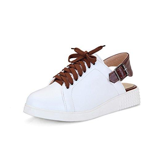 mujer de blanco para vestir Zapatos Adee z6BOqg