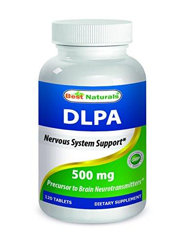 Best Naturals DLPA 500 mg 120 Tablets