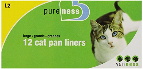 419HWhGAVUL - Pureness Large Cat Pan Liners, 12 Count