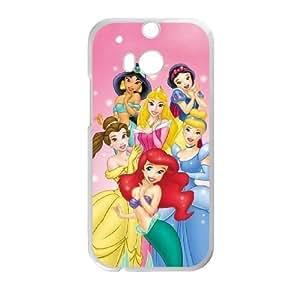 HTC One M8 White phone case Classic Style Disney Cartoon Sleeping Beauty OBN8949899