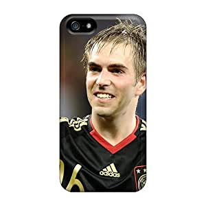 New Style Cases Covers JzH48069Dvph The Captain Of Team Bayern Philipp Lahm Compatible With Iphone 5/5s Protection Cases