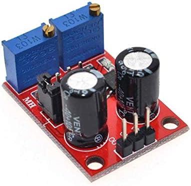 Henreal G/én/érateur de signaux /à Onde carr/ée /à Module r/églable dimpulsions NE555