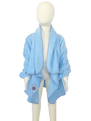 Mountain Laurel Nursery - Cuddly Children's Wearable Blanket & Car Seat Safety Blanket (MD/LG Age 3+/40+lbs) Baby Blue by BabyMoon…