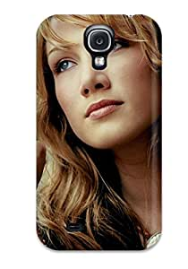 Galaxy Case - Tpu Case Protective For Galaxy S4- Delta Goodrem People Women