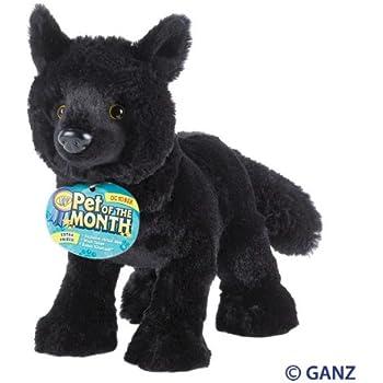 Webkinz Black Wolf October Pet of the Month